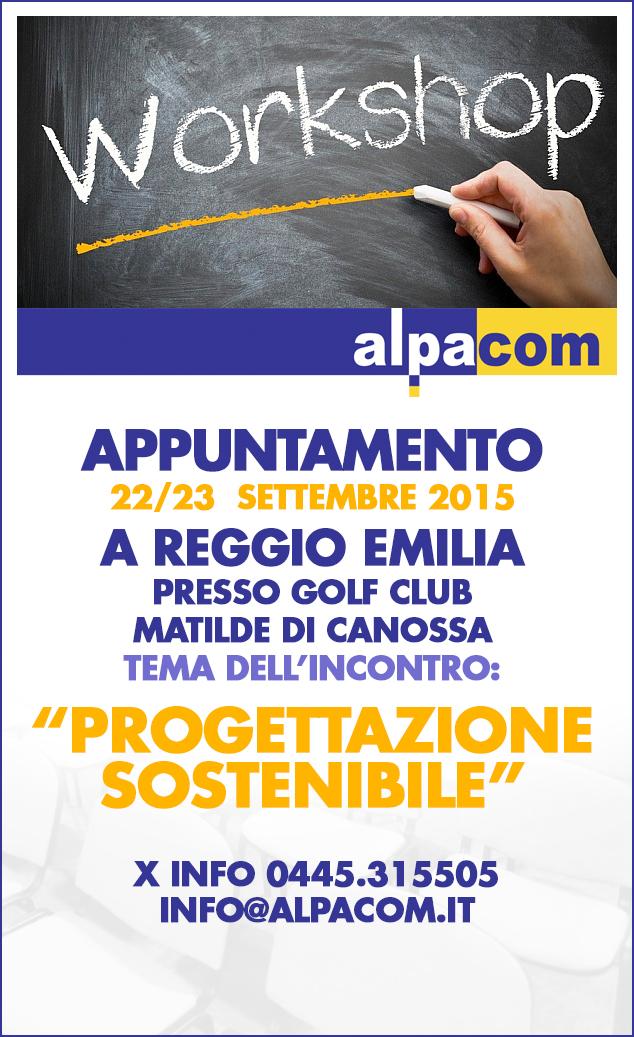 Workshop 22 23 settembre reggio emilia alpacom s r l for Bagnoli s r l reggio emilia re