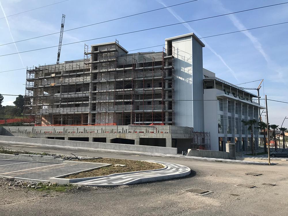 Cantiere Alpacom a Pescara